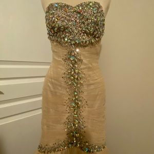 Long mermaid formal dress